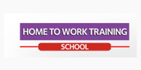 Home To Work Training School Logo