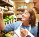 Assessor And Shopfloor Assistant In Grocery Shop