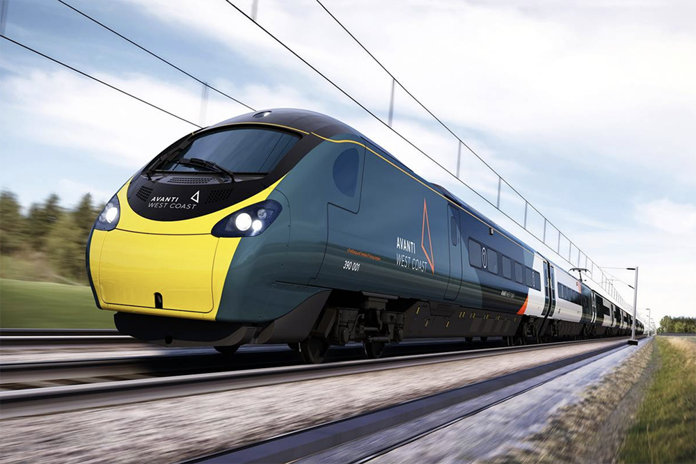 Avanti Train On Track