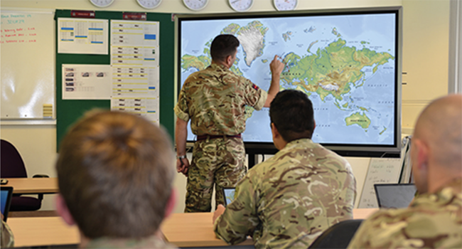 Army Military Classroom Training