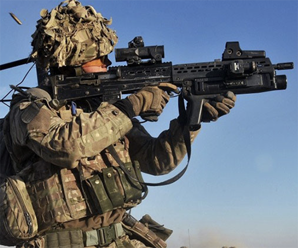 Army Infantry Soldier