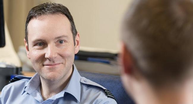 RAF Assessor and Apprentice