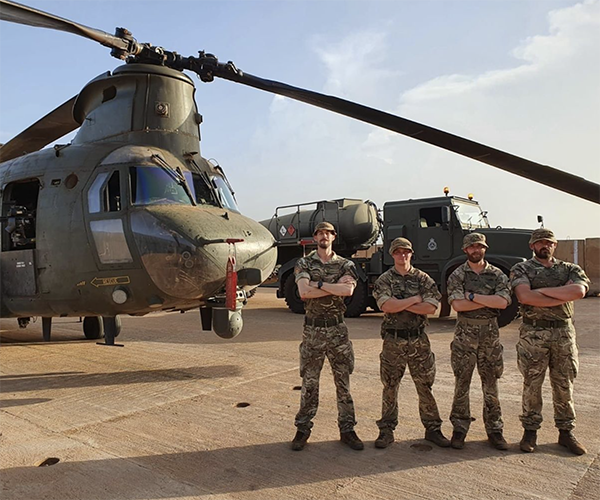 RAF Helicopter Command In Mali